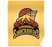 Tatooine SandCrawlers Poster