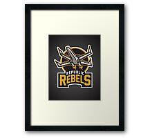 Republic Rebels Framed Print