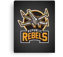 Republic Rebels Canvas Print