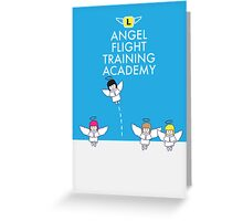 Angel Flight Training Greeting Card