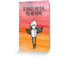 You Are Mine Greeting Card