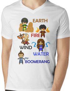 Captain Element Mens V-Neck T-Shirt