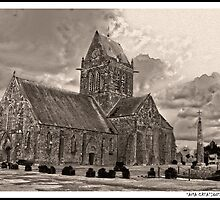 St Marie l'Eglise, Normandie by Sama-creations