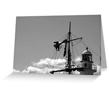 Man on the mast Greeting Card