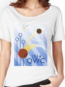 Quidditch World Cup 2014 Women's Relaxed Fit T-Shirt
