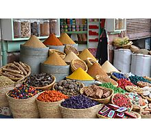 Marrakech The Colour of Spice Photographic Print