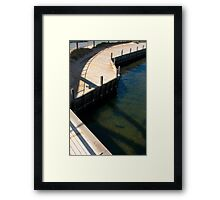 Meander along The Shore. Framed Print