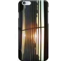 Sunrise through the Louvres iPhone Case/Skin