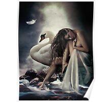 Leda and the Swan Poster