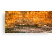 Carved by Wind And Sea - Twelve Apostles National Park - The HDR Experience Canvas Print