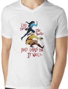 Bad Girls Mens V-Neck T-Shirt