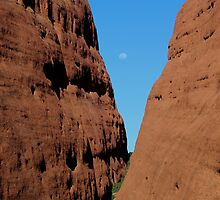 Kata Tjuta walk...and moon by gaylene