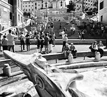 The Spanish Steps by Adrian Alford Photography