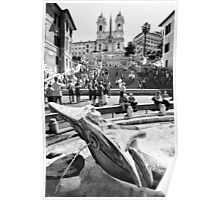 The Spanish Steps Poster