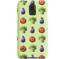 Funny Cartoon Vegetables Samsung Galaxy Case/Skin