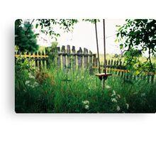 Alenka's Garden Canvas Print