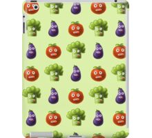 Funny Cartoon Vegetables iPad Case/Skin