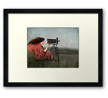 The Observer Framed Print