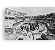 Gladiators Colosseum Canvas Print