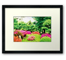 The Art of Harmony Framed Print