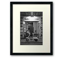 Gelati Girl Framed Print