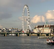 London Eye  by Tony Brown