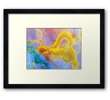 Golden Dragon (Fancy Jasper) Framed Print