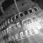 Ghosts Of The Colosseum BW by Adrian Alford Photography