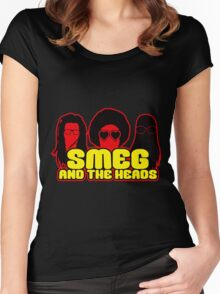 Smeg And The Heads Women's Fitted Scoop T-Shirt