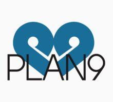 PLAN9 Blue One Piece - Long Sleeve