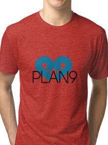 PLAN9 Blue Tri-blend T-Shirt