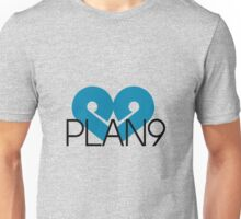 PLAN9 Blue Unisex T-Shirt