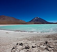 Laguna Verde with Vulcano Licancabur by travel4pictures