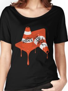"""Dirty Earth """"Cones"""" Women's Relaxed Fit T-Shirt"""