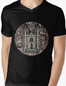 Castle Mens V-Neck T-Shirt