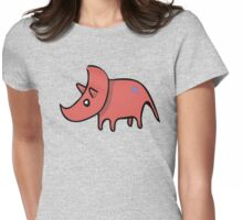 Rhinoceratops! Womens Fitted T-Shirt