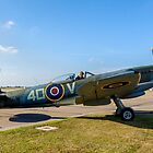 Spitfire LF.XVIe TE311/4D-V at Coningsby by Colin Smedley