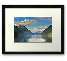 Golden ears Framed Print