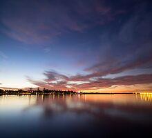 Striped Sunset, Wynnum by Nolan Photography