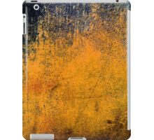 Abstract Orange iPad Case Retro Cool New Grunge Texture iPad Case/Skin