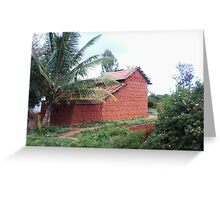 Indian Vernacular Houses-5 Greeting Card