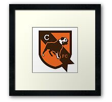 cleveland brown Framed Print