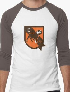 cleveland brown Men's Baseball ¾ T-Shirt
