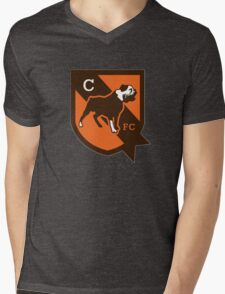 cleveland brown Mens V-Neck T-Shirt