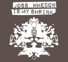 """Joss Whedon Is My Shrink"" - Light Kids Clothes"
