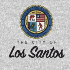 City of Los Santos Emblem by slitheenplanet