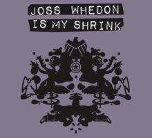 """Joss Whedon Is My Shrink"" - Dark Kids Clothes"