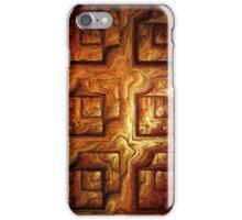 Wood Panel iPhone Case/Skin