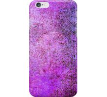 Abstract Violet iPhone Case Lovely Cool New Grunge Texture iPhone Case/Skin