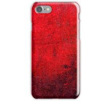 Abstract Red iPhone Case Lovely Cool New Grunge Texture iPhone Case/Skin